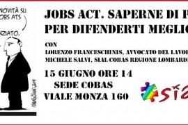 Vieni a scoprire cosa ti aspetta col JOBS ACT!