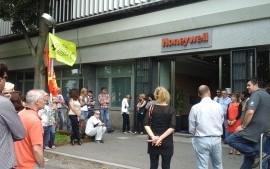 Honeywell: sciopero e assemblea contro il licenziamento collettivo