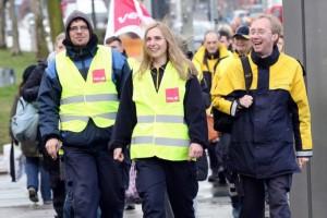 sciopero postini tedeschi 1
