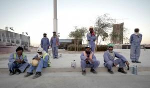 lavoratori Qatar 2