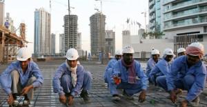 lavoratori Qatar