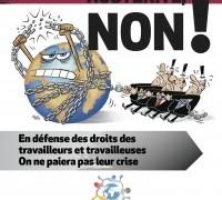 OTTOBRE 2015 CONTRO L'AUSTERITY: l'appello alla mobilitazione della Rete Internazionale di Solidarietà e di Lotta