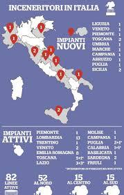 mappa inceneritori