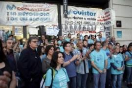 Telefónica-Movistar: i lavoratori denunciano la repressione dopo lo sciopero ad oltranza