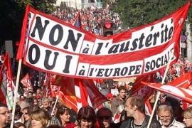 Bruxelles: in 100mila protestano contro l'austerità. Scontri e arresti