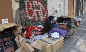 homelessness in athens, greece