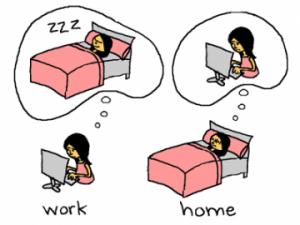 lavorare sempre
