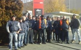 Volantinaggio alla sede di XPO Logistics di Trezzo d'Adda: certezze per i lavoratori della Coop CGS!