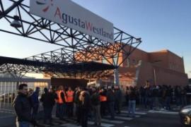 Sciopero Agustawestland: adesione del 90%, officine vuote