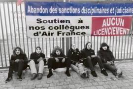 Due giorni di mobilitazione intersindacale dei lavoratori di Air France in sostegno dei 5 colleghi sotto processo per le proteste del 5 ottobre