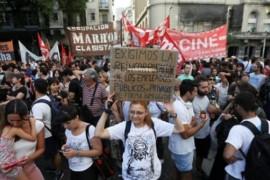 Argentina: sciopero nazionale di 24 ore del settore pubblico