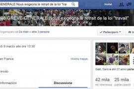 """Francia: #9/03 GRÈVE GENERALE! Lo sciopero generale autoconvocato contro il """"Jobs Act alla francese"""""""