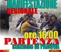 Padova: sabato 5 marzo manifestazione regionale per i diritti di tutti