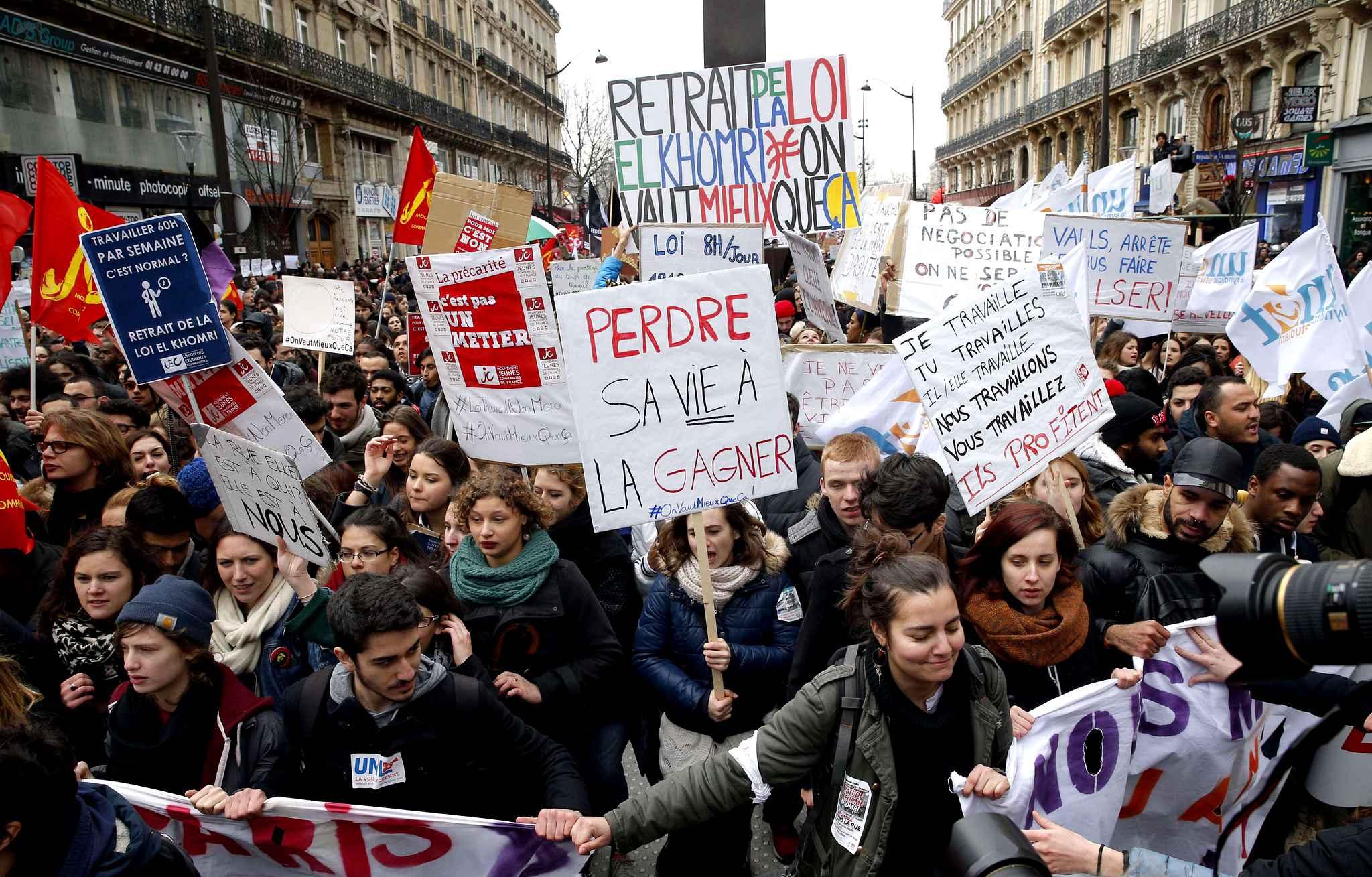 FRANCIA Cecile Rimboud (CWI): 'Serve un'alternativa politica'