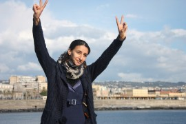 "8 marzo. Nawal Soufi al parlamento europeo (video): ""corridoi umanitari per i profughi, ora""."