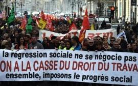 Francia, Loi Travail: dichiarazione comune dei sindacati CGT, FO, FSU, Solidaires, UNEF, UNL, FIDL