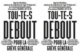 28 aprile sciopero generale in Francia: Sial Cobas sarà davanti al Consolato francese