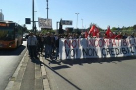 Sciopero metalmeccanici alla Gkn (Firenze): gli incompatibili e i non credibili