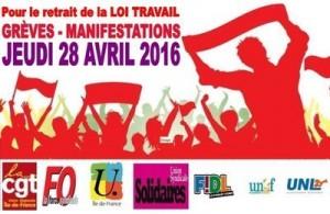 intersindacale francia 28 1prile