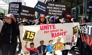 marcia #fightfor15 New York