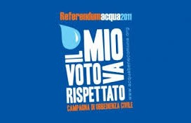 Acqua pubblica: petizione popolare per il ritiro del decreto Madia. #IL MIO VOTO VA RISPETTATO!