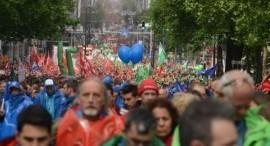 """Belgio: lo sciopero del 24 maggio contro la riforma del lavoro """"Loi Peeters"""""""