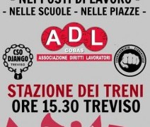 ADL Cobas: manifestazione il 14 maggio contro l'attacco ai diritti in Italia ed Europa