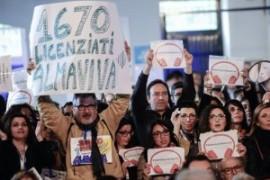 Almaviva: prosegue la vertenza tra scioperi e proposte di solidarietà senza futuro