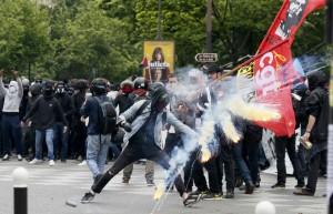 francia scontri