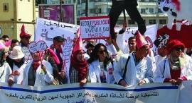Marocco: solidarietà agli insegnanti tirocinanti in lotta