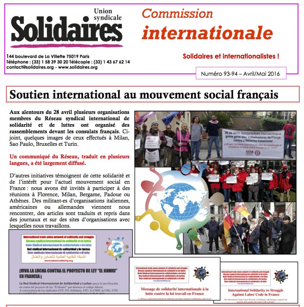 ritaglio solidarietà solidaires