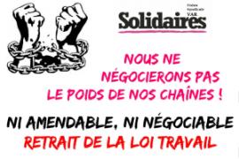 Francia: l'appello di Solidaires a decidersi per lo sciopero prolungato, intercettando la mobilitazione dei ferrovieri del 18 maggio
