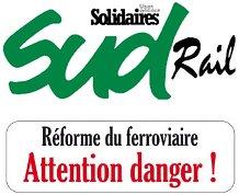 SUD Rail: i ferrovieri francesi manifestano il 10 maggio e dal 18 maggio sciopero prolungato!