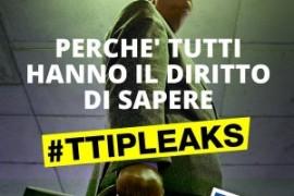 TTIP leaks: Greenpeace Olanda rivela i testi segreti del TTIP