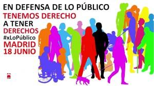 Spagna en defensa de lo publico