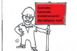 Contratto dei metalmeccanici: sciopero di 8 ore il 9 giugno