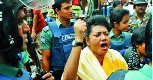 Bangladesh, dicembre 2010. Arresto di Moshrefa Mishu. Fonte: bdnews24.