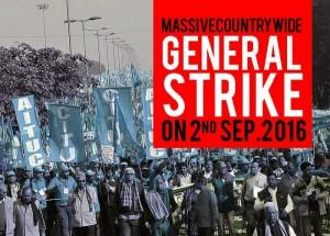 sciopero India 2 settembre 2016