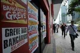 Brasile: terza settimana di sciopero ad oltranza dei bancari #negociabanqueiro