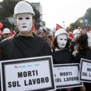 Basta morire sul lavoro. Mercoledì 21 settembre sciopero dei metalmeccanici in tutta Italia