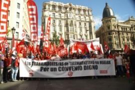 Spagna: scioperi per il rinnovo del contratto dei call center. Comunicato della CGT