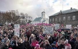 Islanda: sciopero delle donne contro le disuguaglianze salariali