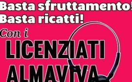 Almaviva: sabato corteo per la dignità del lavoro