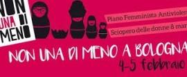 Non Una di Meno: Assemblea Nazionale a Bologna il 4-5 febbraio verso lo sciopero dell'8 marzo