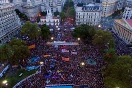 8 marzo 2017: Ni Una Menos e lo sciopero in Argentina