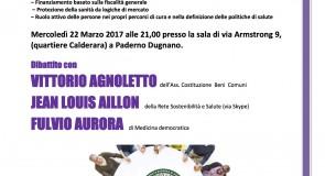 """""""La salute non è in vendita"""": incontro pubblico in vista della giornata europea per la sanità pubblica del 7 aprile"""