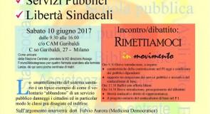 Pubblico Impiego in movimento: assemblea a Milano il 10 giugno per una piattaforma di lotta e liste unitarie alle prossime elezioni RSU
