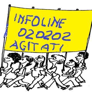 infoline 020202 del Comune di Milano in stato di agitazione