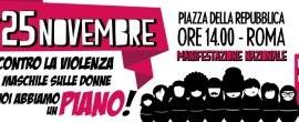 Non Una Di Meno: il 25 novembre manifestazione nazionale a Roma