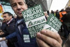 ALITALIA: il 19 gennaio sciopero di 24h per l'intero comparto aereo-aeroportuale e indotto
